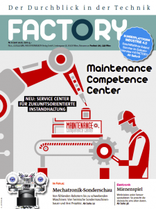 Maintenance Competence Center (MCC) als Coverstory im Factory (Juni 2016)