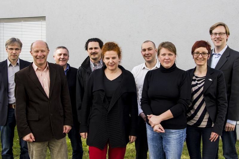 """Das Team von """"Instandhaltung 4.0"""" beim Kick-off-Meeting am 20.02.2014 in Salzburg"""