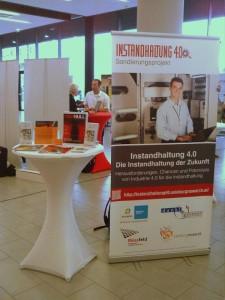 """Stand """"Instandhaltung 4.0"""" im Ausstellungsbereich"""